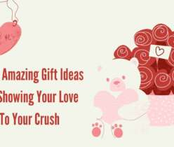 Gift Ideas For Showing Your Love